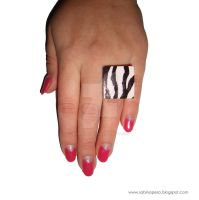 Zebra by jewelryandstuff