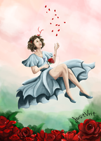 Dreaming of Roses by justvrit