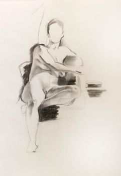 figure study 3 by ErinFaye