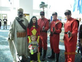 Spiderwoman and Tuscan Raiders and these guys by GreekGodess07
