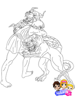 The Twelve Labors of Hercules by Writer-Colorer