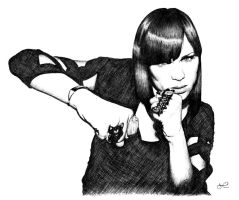 JESSIE J by face-art