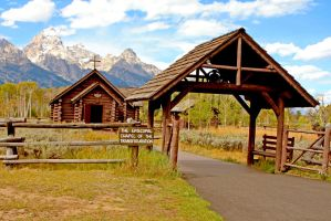 Teton Chape Front View by Kippenwolf