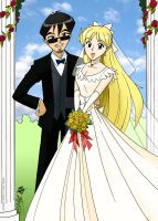 Arthur and Mina married by ArthurT2015