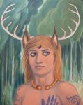 Cernunnos - face by MariaAragon64