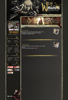 layout webnaruto by Shando91