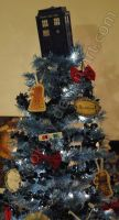 Doctor Who Christmas tree by kookookitty
