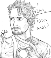 iron man attempt 1 by Blue-Fayt