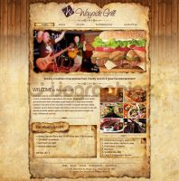 wayside grill by ijographicz