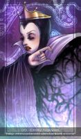 Evil Queen --snow white fanart by emilynguyenart