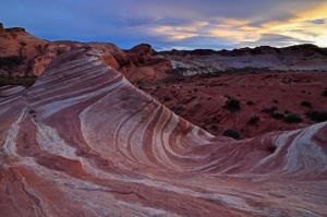 fire wave sunset valley of fire by yo13dawg