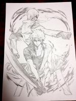 AX15 Pencil commission 02 by yooani