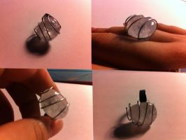 Wrapped crystal ring by Se34r5