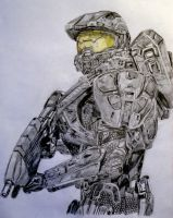 Master Chief - Halo by nath2897