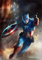 Captain America by albz77