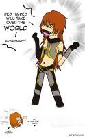 DEM : Loki the RedHaired by batmanxlover