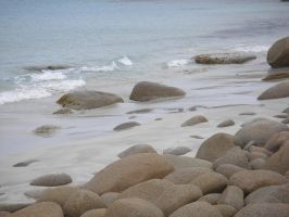 Rock and Sand by TasermonsPartner