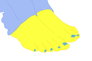 (request) Leamon Hearts Feet by vitorbrony