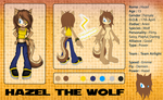 Hazel Reference Sheet by Kellkie