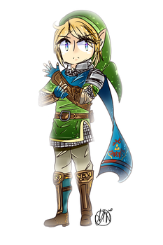 Hyrule Warriors: Link by sakurichii
