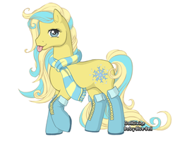 Winter pony adoptable. by sparkleadopts