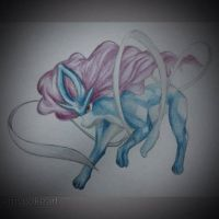 My First Suicune by mypokeart