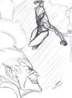 Spidey Sketch With Videos! by ConstantM0tion