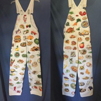 Food Overalls by jaqi0nightshade