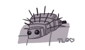MC:  Cutie Lil Silverfish by TheLonelyQueen