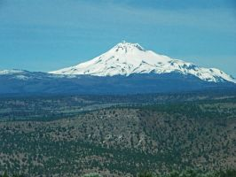 Mt. Jefferson by Synaptica