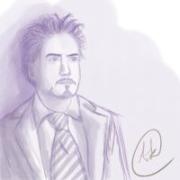 Tony Stark by Cyrisesevens