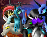 Together We Will Rule Equestria - 1000th Deviation by LastbutnotAlise