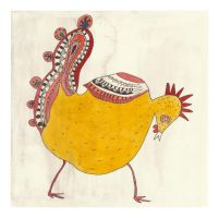 Yellow Rooster by squiglemonster