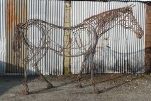 Horse 4 by HubcapCreatures