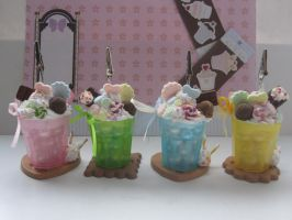 Rainbow SundaeCup PictureFrame by AngelicLight100
