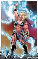 Jane Foster: Goddess of Thunder by muscle-fan-comics