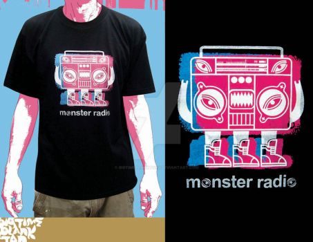 monster radio black by bigtimeplankton3