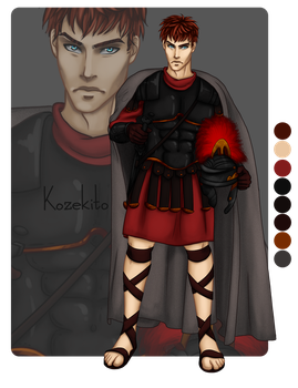Adoptable Commission - Roman by Kozekito