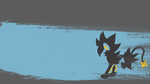 Luxray Background by emerald0888
