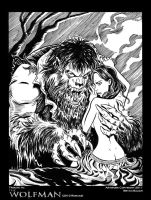 The Wolfman:2010 in B and W by BryanBaugh