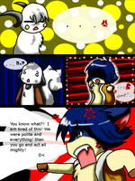 Out of the blu Comic Page by TheLonelyQueen