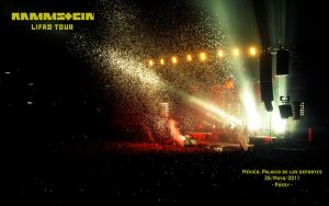 Rammstein wall03 by EdwardElric88