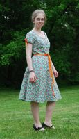 Retro Dress - Front by Goldenspring
