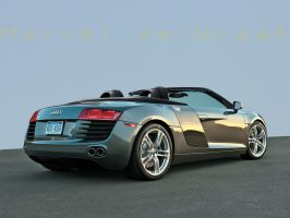 Audi R8 roadster Concept by degraafm