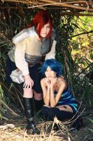 Erza and Lluvia by the-sushi-monster