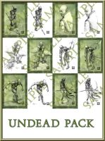 Undead pack by Kimagu
