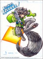 Rocket Raccoon by Kat-Nicholson