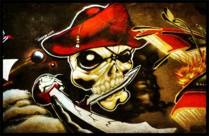Skull Pirate by techno-x