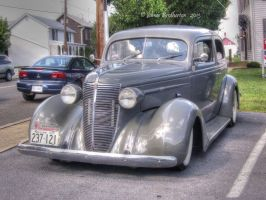 1937 Nash LaFayette Business Coupe, Model 3712 by jim88bro
