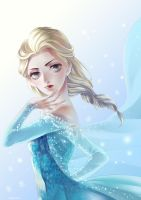 Queen Elsa by hiruna454